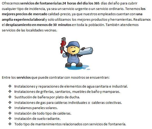 fontaneros en Fuensaldaña 24h profesionales